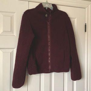 Joe Fresh Purple Sherpa jacket